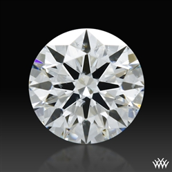 0.452 ct F SI1 A CUT ABOVE® Hearts and Arrows Super Ideal Round Cut Loose Diamond