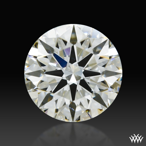 0.401 ct I SI1 A CUT ABOVE® Hearts and Arrows Super Ideal Round Cut Loose Diamond