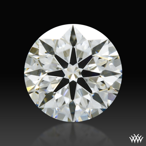 0.40 ct I SI1 A CUT ABOVE® Hearts and Arrows Super Ideal Round Cut Loose Diamond