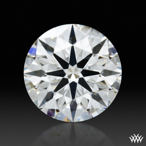 0.35 ct F SI1 A CUT ABOVE® Hearts and Arrows Super Ideal Round Cut Loose Diamond