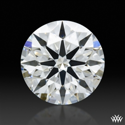 0.345 ct F SI1 A CUT ABOVE® Hearts and Arrows Super Ideal Round Cut Loose Diamond