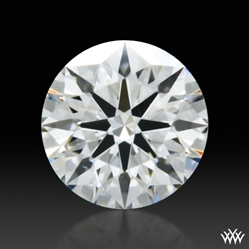 0.348 ct G SI1 A CUT ABOVE® Hearts and Arrows Super Ideal Round Cut Loose Diamond