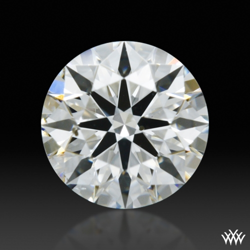 0.336 ct F SI1 A CUT ABOVE® Hearts and Arrows Super Ideal Round Cut Loose Diamond