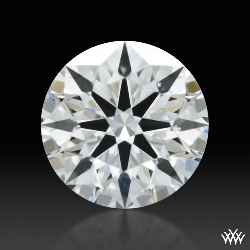 0.321 ct E VS2 A CUT ABOVE® Hearts and Arrows Super Ideal Round Cut Loose Diamond