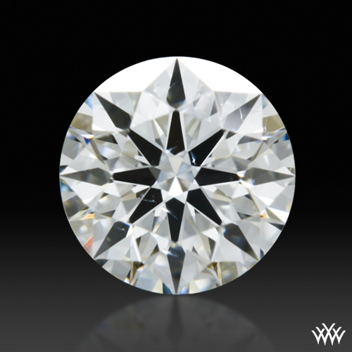 0.376 ct H SI1 A CUT ABOVE® Hearts and Arrows Super Ideal Round Cut Loose Diamond