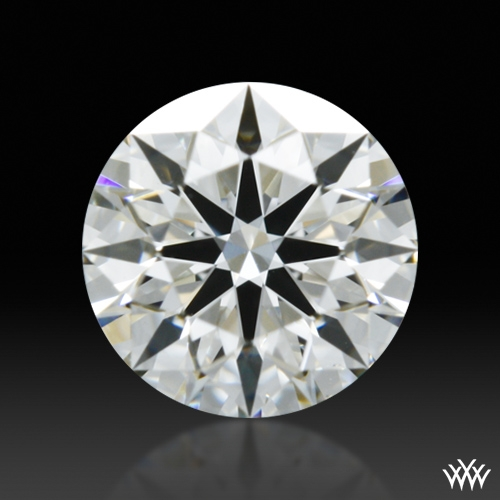 0.377 ct H SI1 A CUT ABOVE® Hearts and Arrows Super Ideal Round Cut Loose Diamond