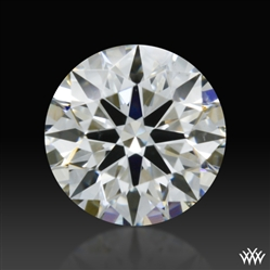 0.367 ct H SI1 A CUT ABOVE® Hearts and Arrows Super Ideal Round Cut Loose Diamond