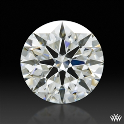 0.363 ct H SI1 A CUT ABOVE® Hearts and Arrows Super Ideal Round Cut Loose Diamond