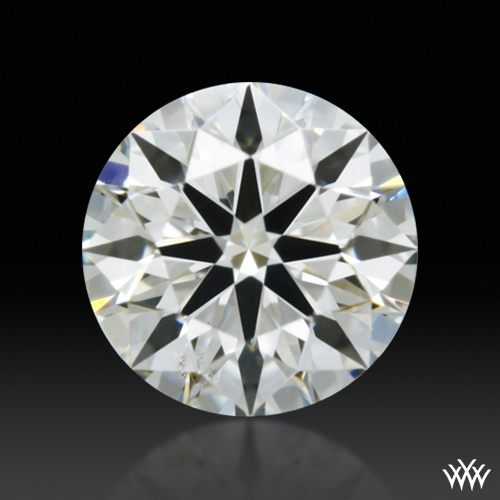 0.357 ct I VS2 A CUT ABOVE® Hearts and Arrows Super Ideal Round Cut Loose Diamond