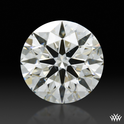 0.351 ct J SI1 A CUT ABOVE® Hearts and Arrows Super Ideal Round Cut Loose Diamond