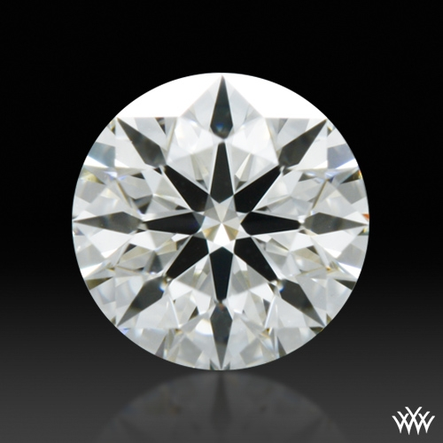0.323 ct J SI1 A CUT ABOVE® Hearts and Arrows Super Ideal Round Cut Loose Diamond