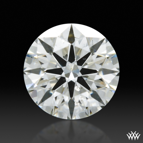 0.311 ct I SI1 A CUT ABOVE® Hearts and Arrows Super Ideal Round Cut Loose Diamond