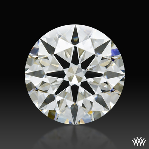 1.058 ct H VS2 A CUT ABOVE® Hearts and Arrows Super Ideal Round Cut Loose Diamond