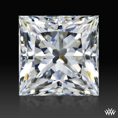 1.08 ct H VS2 A CUT ABOVE® Princess Super Ideal Cut Diamond