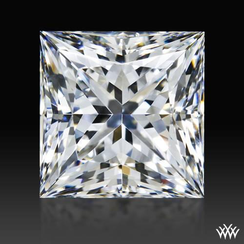 0.903 ct F VS2 A CUT ABOVE® Princess Super Ideal Cut Diamond