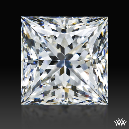 0.903 ct F VS2 A CUT ABOVE® Princess Super Ideal Cut Diamond