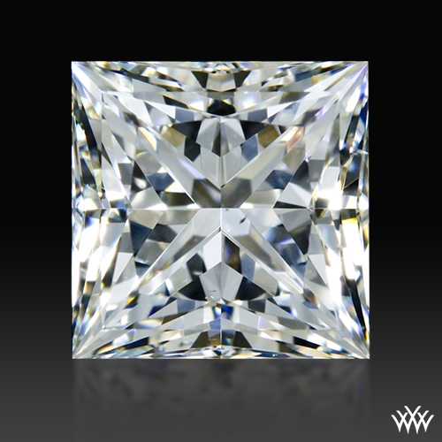 1.004 ct G VS2 A CUT ABOVE® Princess Super Ideal Cut Diamond