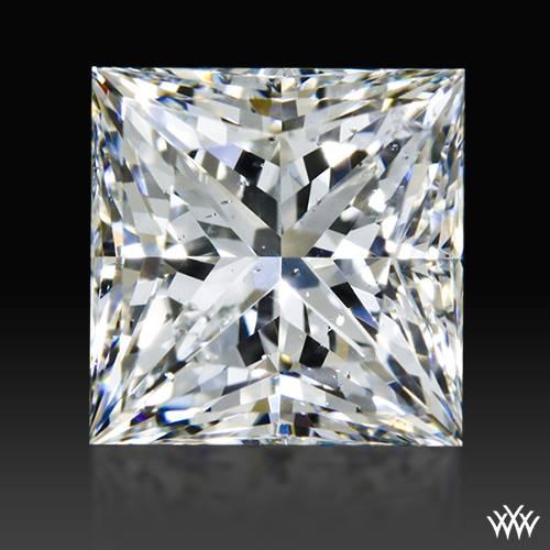 1.011 ct H SI1 A CUT ABOVE® Princess Super Ideal Cut Diamond