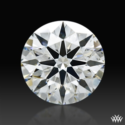 0.905 ct H SI1 A CUT ABOVE® Hearts and Arrows Super Ideal Round Cut Loose Diamond