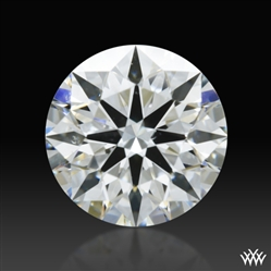 0.803 ct F SI1 A CUT ABOVE® Hearts and Arrows Super Ideal Round Cut Loose Diamond