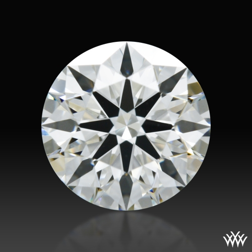 0.828 ct H VS1 A CUT ABOVE® Hearts and Arrows Super Ideal Round Cut Loose Diamond