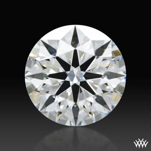 0.711 ct F VS1 A CUT ABOVE® Hearts and Arrows Super Ideal Round Cut Loose Diamond