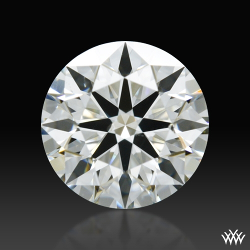 0.712 ct H SI1 A CUT ABOVE® Hearts and Arrows Super Ideal Round Cut Loose Diamond