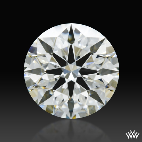 0.756 ct I VS1 A CUT ABOVE® Hearts and Arrows Super Ideal Round Cut Loose Diamond