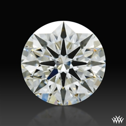 0.767 ct I VS2 A CUT ABOVE® Hearts and Arrows Super Ideal Round Cut Loose Diamond