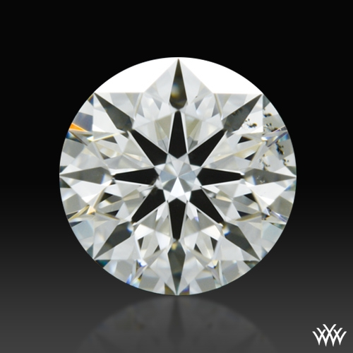 0.773 ct J VS2 A CUT ABOVE® Hearts and Arrows Super Ideal Round Cut Loose Diamond