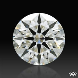 0.754 ct J SI1 A CUT ABOVE® Hearts and Arrows Super Ideal Round Cut Loose Diamond