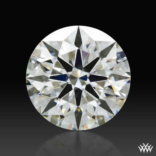 0.713 ct J VS2 A CUT ABOVE® Hearts and Arrows Super Ideal Round Cut Loose Diamond