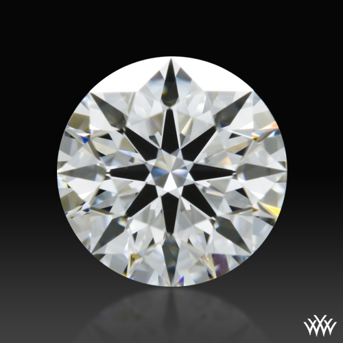 0.61 ct E VS1 A CUT ABOVE® Hearts and Arrows Super Ideal Round Cut Loose Diamond