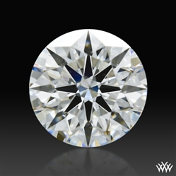 0.648 ct F SI1 A CUT ABOVE® Hearts and Arrows Super Ideal Round Cut Loose Diamond