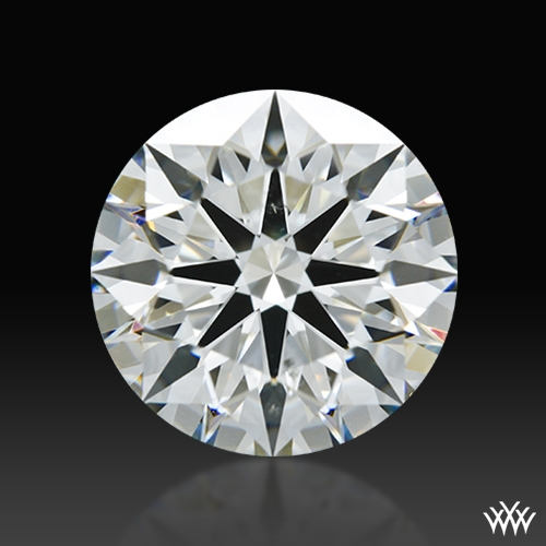 2.077 ct H SI1 A CUT ABOVE® Hearts and Arrows Super Ideal Round Cut Loose Diamond