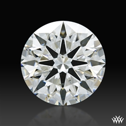 2.058 ct H SI1 A CUT ABOVE® Hearts and Arrows Super Ideal Round Cut Loose Diamond