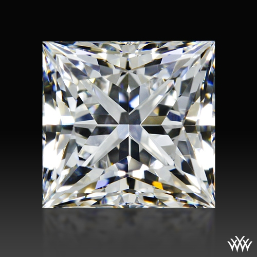 1.213 ct F VS1 A CUT ABOVE® Princess Super Ideal Cut Diamond