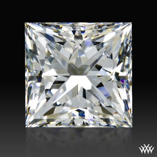0.902 ct G VS2 A CUT ABOVE® Princess Super Ideal Cut Diamond