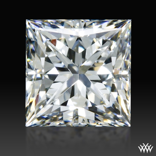 0.924 ct H VVS2 A CUT ABOVE® Princess Super Ideal Cut Diamond