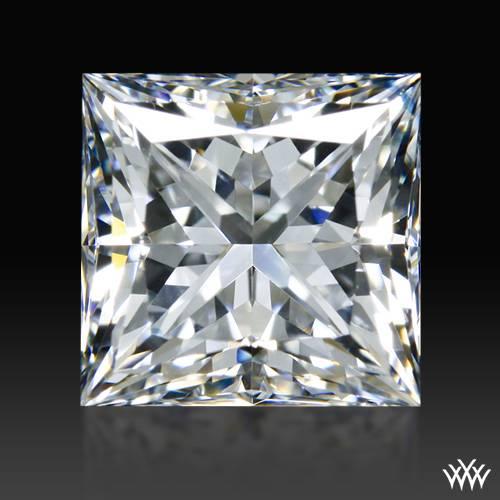 1.287 ct E VS1 A CUT ABOVE® Princess Super Ideal Cut Diamond