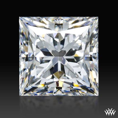 1.535 ct F SI1 A CUT ABOVE® Princess Super Ideal Cut Diamond