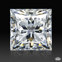 1.535 ct F SI1 A CUT ABOVE® Princess Super Ideal Cut Diamond