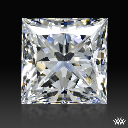 1.717 ct F VS2 A CUT ABOVE® Princess Super Ideal Cut Diamond