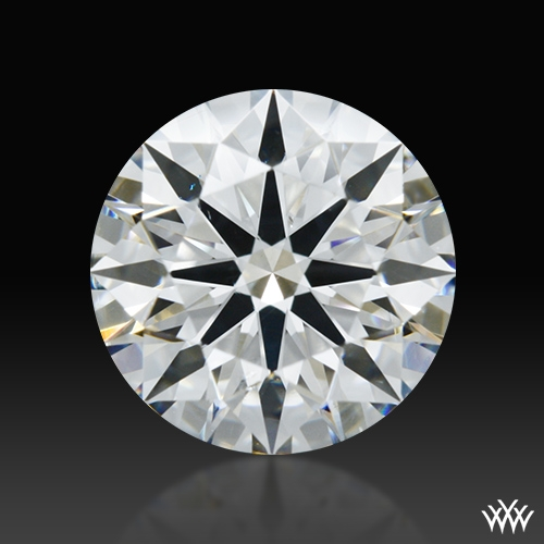 1.121 ct H SI1 A CUT ABOVE® Hearts and Arrows Super Ideal Round Cut Loose Diamond