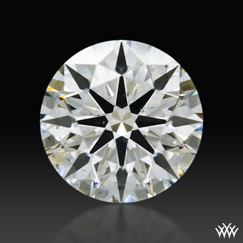 1.056 ct J SI1 A CUT ABOVE® Hearts and Arrows Super Ideal Round Cut Loose Diamond