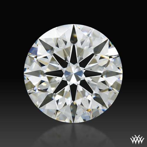 1.204 ct H VS2 A CUT ABOVE® Hearts and Arrows Super Ideal Round Cut Loose Diamond