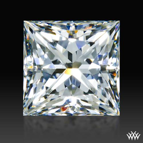 0.797 ct G SI1 A CUT ABOVE® Princess Super Ideal Cut Diamond