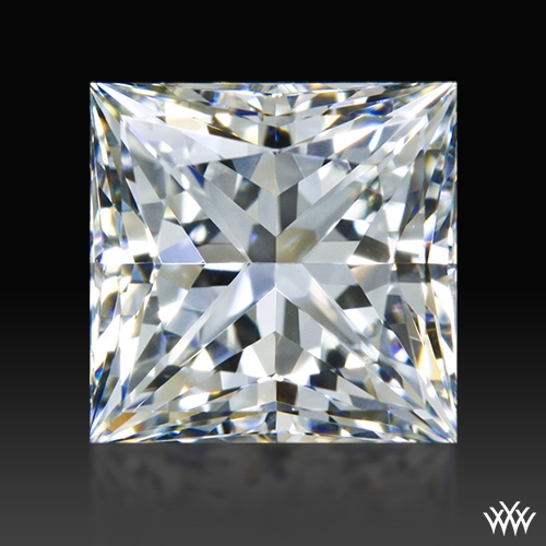 0.916 ct H VS1 A CUT ABOVE® Princess Super Ideal Cut Diamond