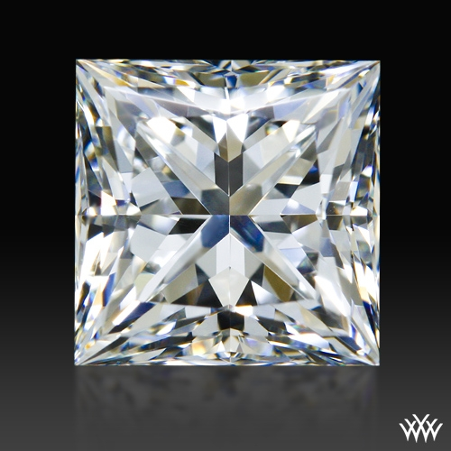 1.237 ct G VVS2 A CUT ABOVE® Princess Super Ideal Cut Diamond