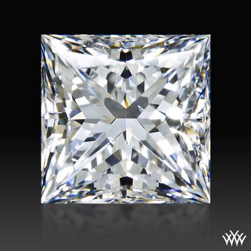 1.323 ct F SI1 A CUT ABOVE® Princess Super Ideal Cut Diamond